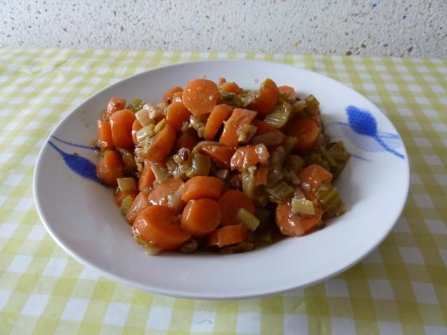 assiette carottes celeri