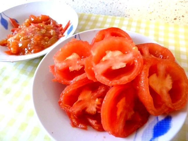 sauce tomates crues recette de cuisine alcaline. Black Bedroom Furniture Sets. Home Design Ideas