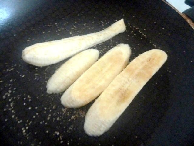 banane saupoudrée de sucre