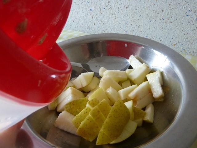 citron et pommes
