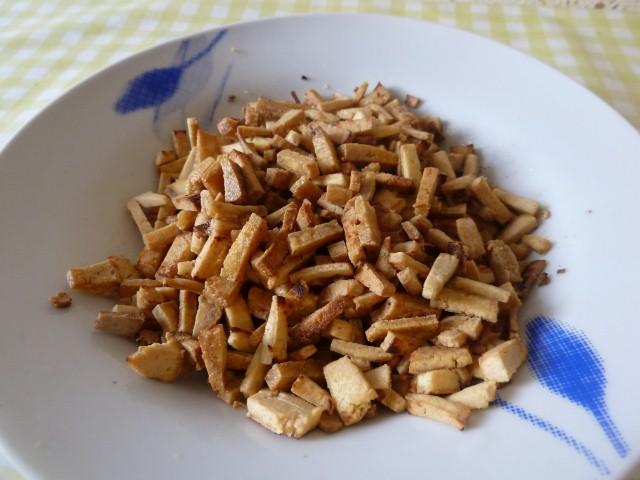 croutons de tofu