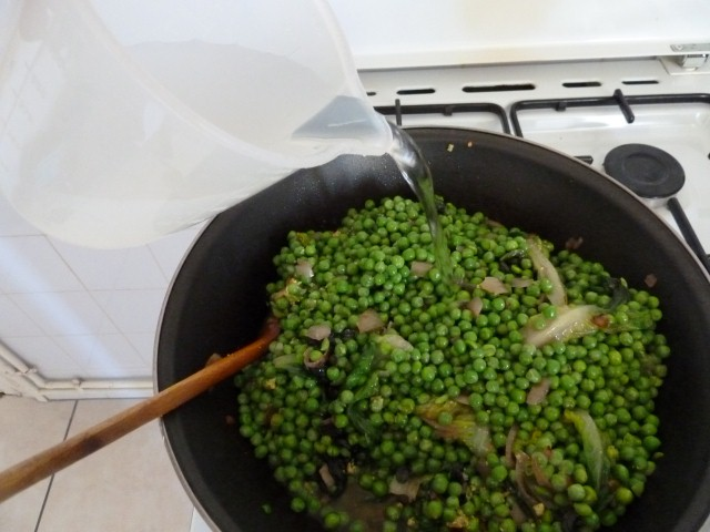 cuisson petits pois