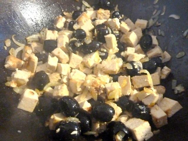 olives tofu