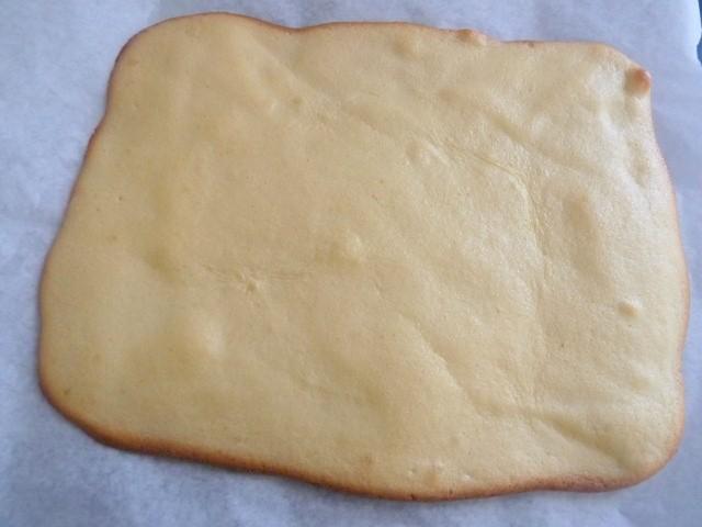 Pâte à biscuit cuite