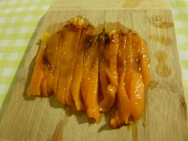 poivrons en lamelles