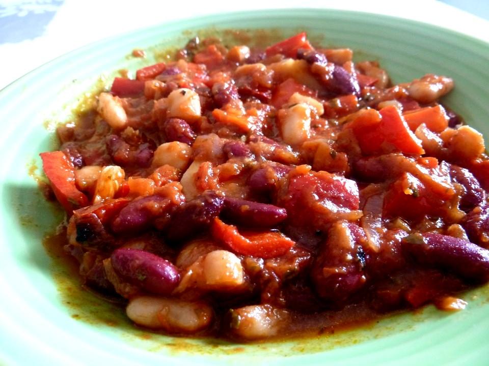 assiette haricots bascaise