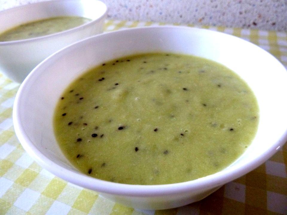 2 ou 4 portions creme kiwi