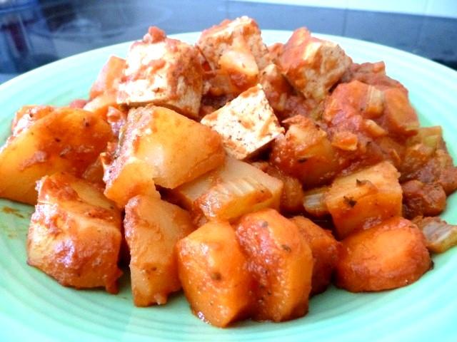 Recette Ragout de Tofu