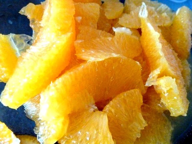 Suprême d'orange