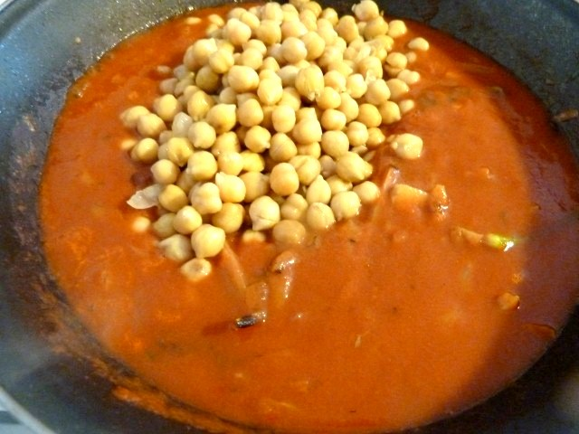 Fenouil Pois Chiches Tomate