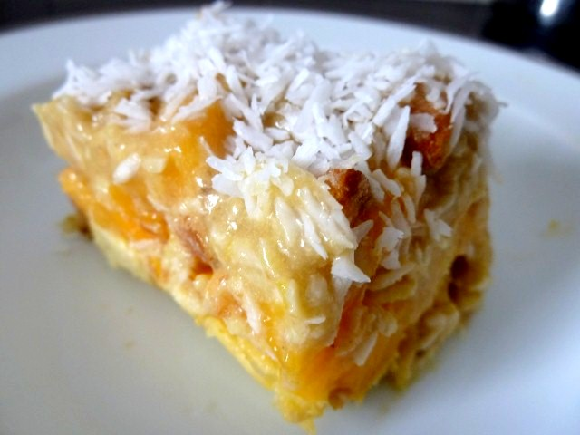 assiette tiramisu mangue coco