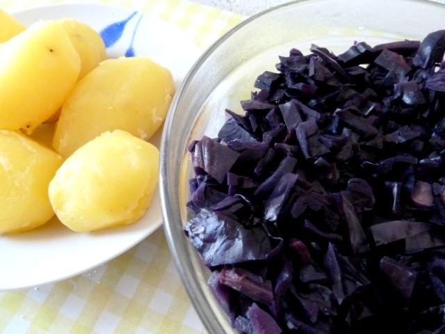 Chou Rouge Et Patates