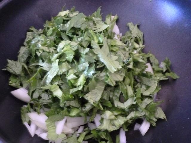 Poivronnade aux pois chiches recette de cuisine alcaline - Que faire avec les feuilles de celeri ...