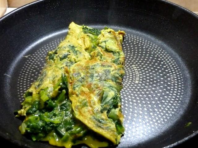 Omelette Fanes Pliee
