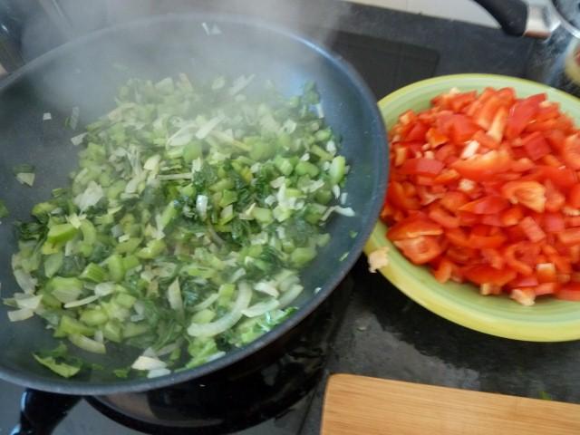 Poivrons Rouges Celeri