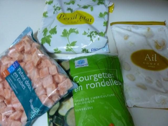 legumes surgeles