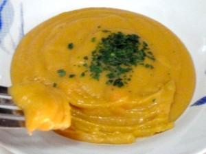 fourchette puree pois casses carottes