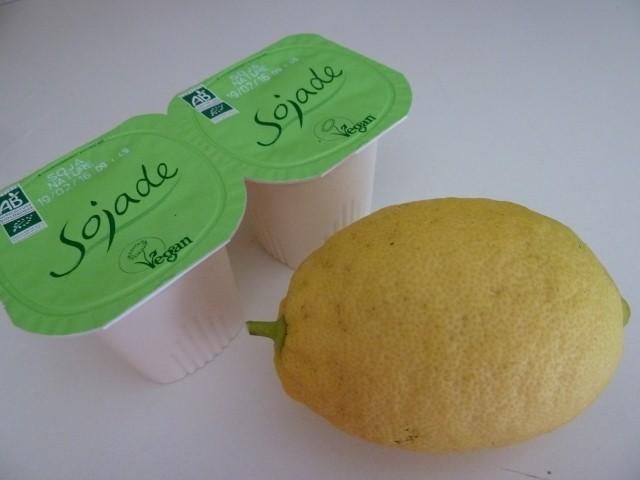 yaourt soja citron