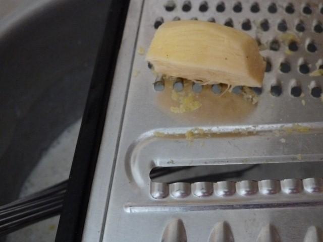 creme bechamel citron gingembre