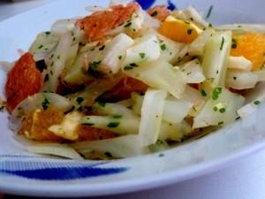 assiette fenouil aux agrumes