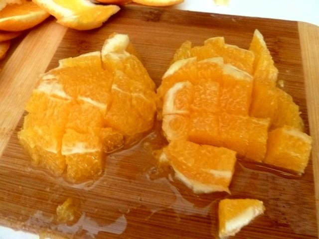 orange en des