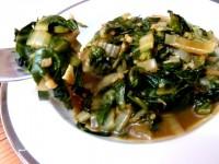 assiette bettes ou blettes