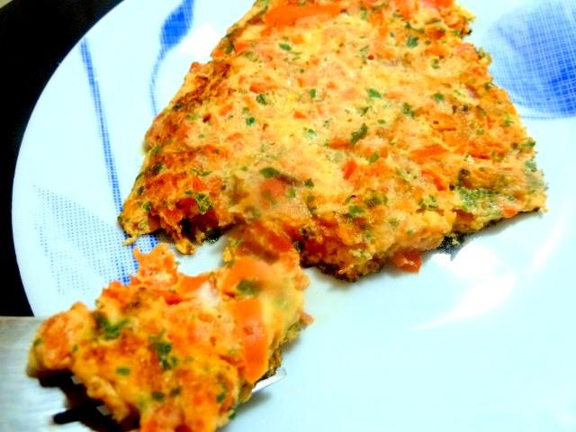 part tortilla poivron