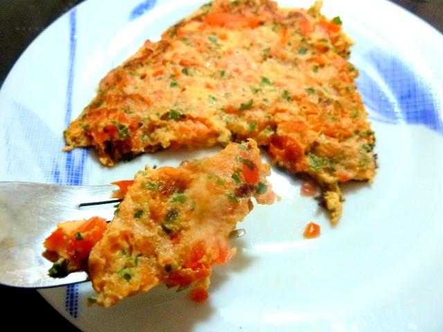 part tortilla poivron persil