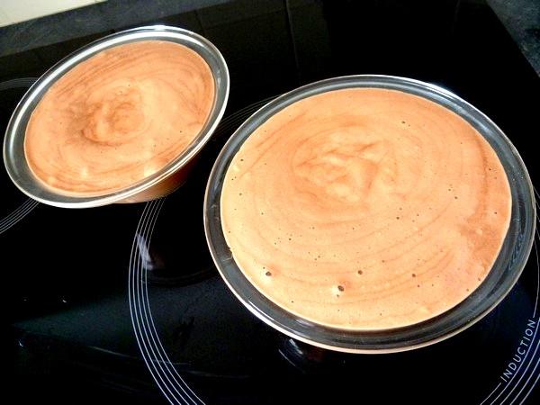 mousse chocolat au lait coco dressage