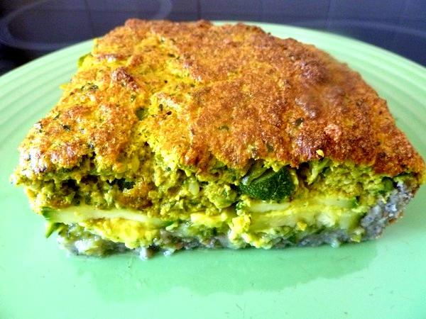 tarte aux courgettes dressage