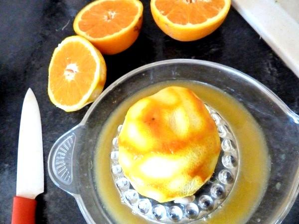 gelee orange artichaut jus oranges