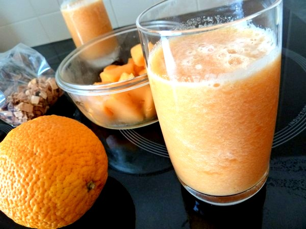 smoothie melon orange au tilleul aubier ingredients