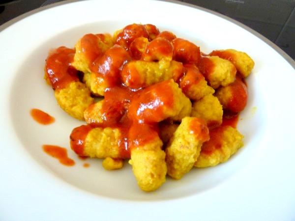 gnocchis de pommes de terre aux epices sauce dressage