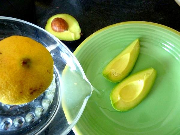 ecrasee de patates avocat aux olives citron