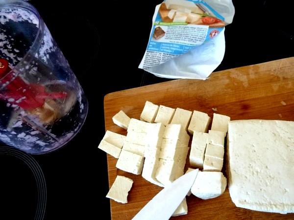 boulettes de tofu aux epices tofu en des