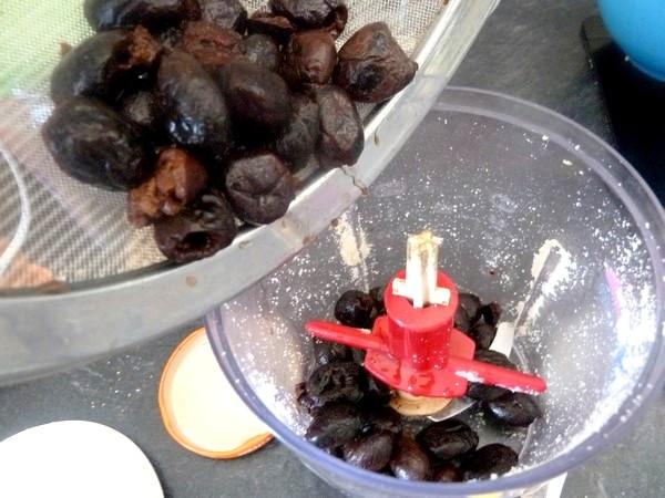 aubergines aux olives et graines cajou pate olive