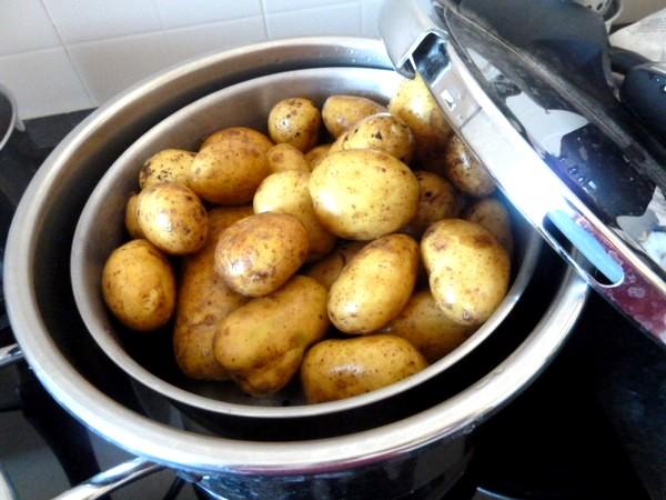 creme de blettes aux pommes de terre