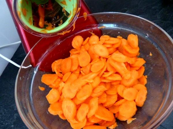 crozets maison aux carottes celeri