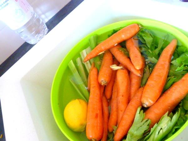 jus carottes celeri