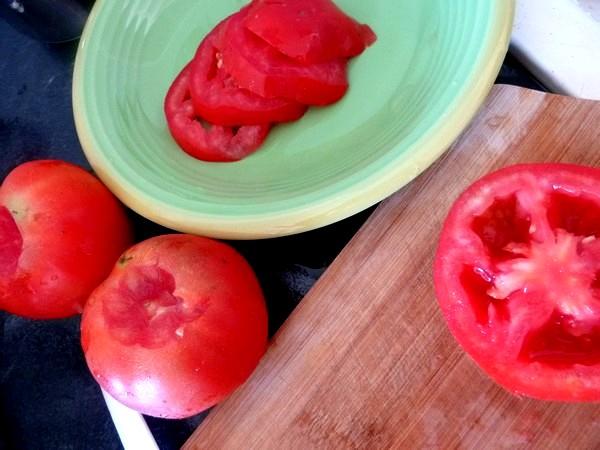 Lasagnes aux aubergines et tomates tomates