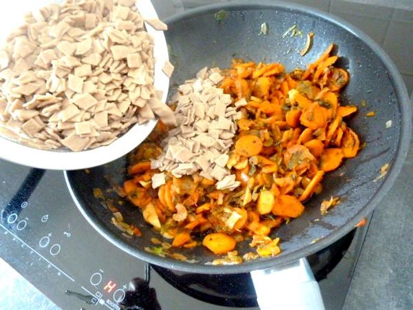 crozets maison aux carottes celeri rassembler