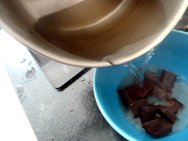 biscuit moelleux chocolat banane eau bouillanate