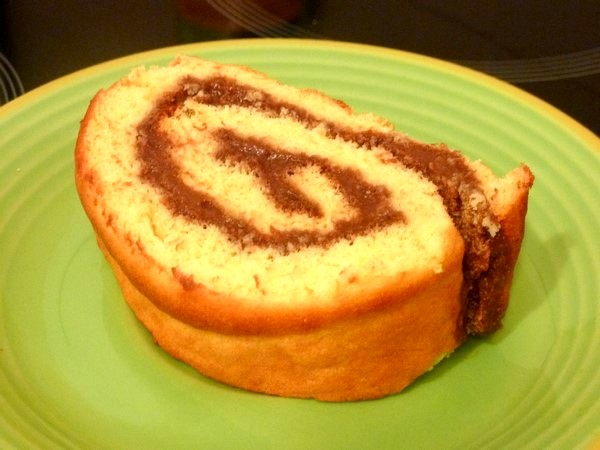 biscuit moelleux chocolat banane part