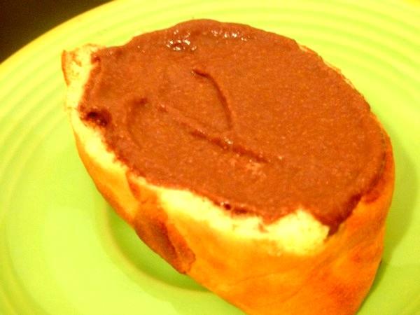 biscuit moelleux chocolat banane etaler ganache