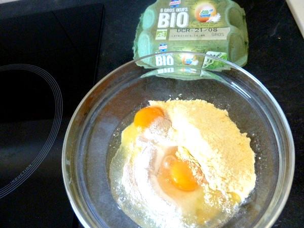 tagliatelles sans gluten oeufs