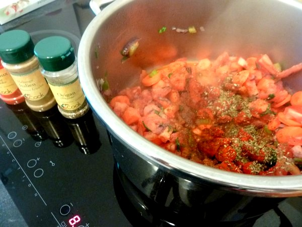 poivrons farcis aux legumes et tofu aromates