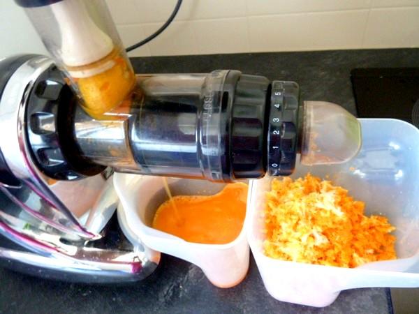 jus carottes celeri extraction citron