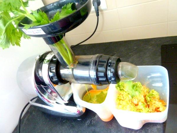 jus carottes celeri extraction celeri branches