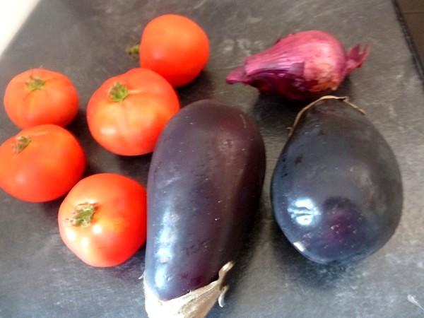 aubergines a la tomate