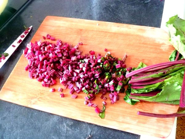 tarte aux graines garniture fanes et celeri